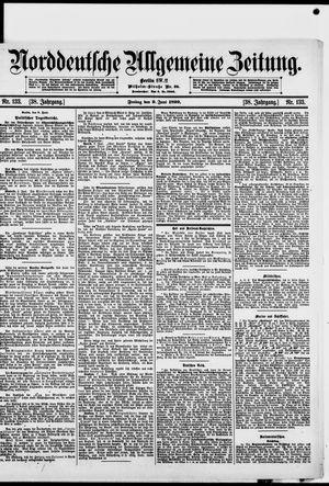 Norddeutsche allgemeine Zeitung vom 09.06.1899