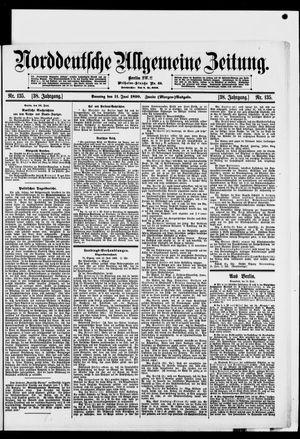 Norddeutsche allgemeine Zeitung vom 10.06.1899