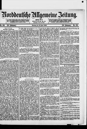 Norddeutsche allgemeine Zeitung vom 13.06.1899