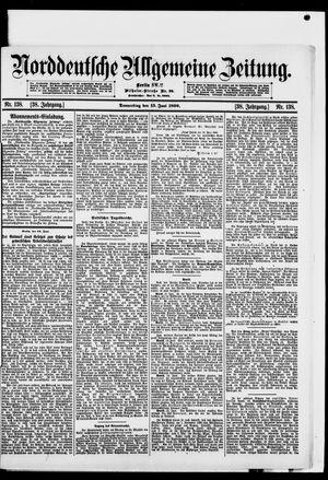 Norddeutsche allgemeine Zeitung vom 15.06.1899