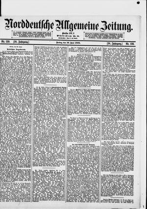 Norddeutsche allgemeine Zeitung vom 16.06.1899