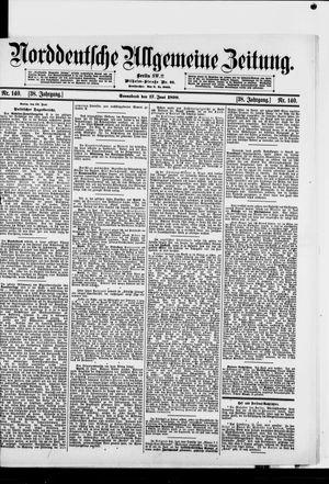 Norddeutsche allgemeine Zeitung vom 17.06.1899