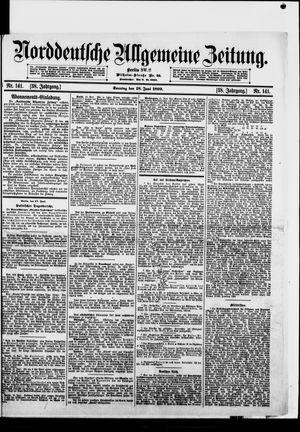 Norddeutsche allgemeine Zeitung vom 18.06.1899