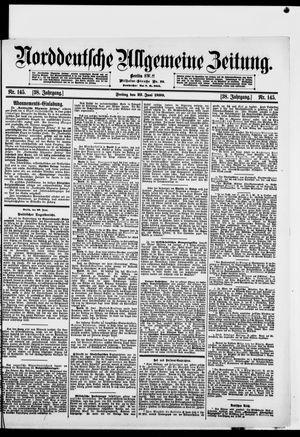 Norddeutsche allgemeine Zeitung vom 23.06.1899