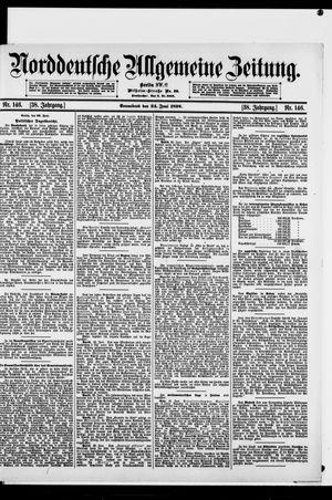 Norddeutsche allgemeine Zeitung vom 24.06.1899