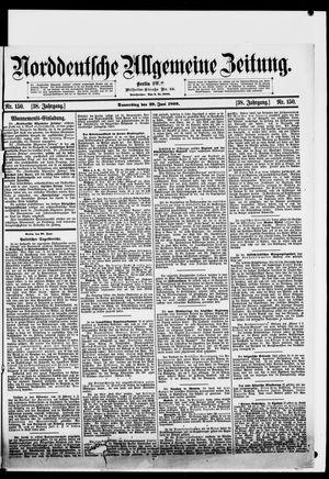 Norddeutsche allgemeine Zeitung vom 29.06.1899