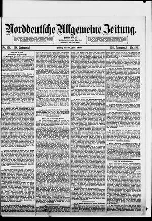 Norddeutsche allgemeine Zeitung vom 30.06.1899
