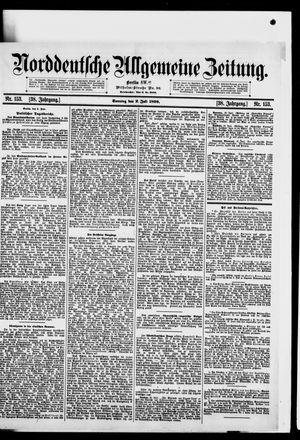 Norddeutsche allgemeine Zeitung vom 02.07.1899