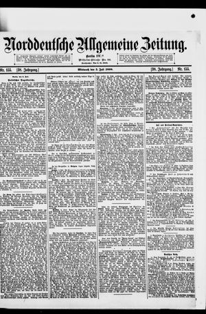 Norddeutsche allgemeine Zeitung vom 05.07.1899