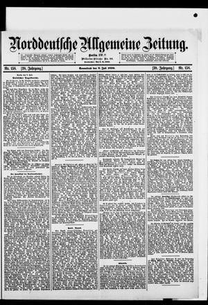 Norddeutsche allgemeine Zeitung vom 08.07.1899