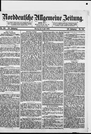 Norddeutsche allgemeine Zeitung vom 09.07.1899