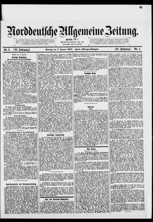 Norddeutsche allgemeine Zeitung vom 07.01.1900