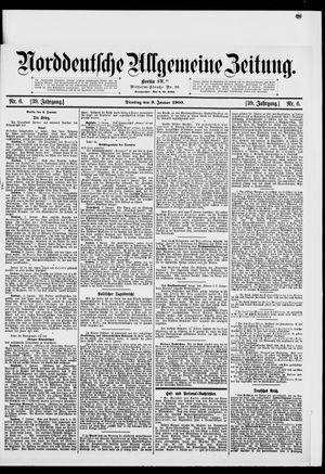 Norddeutsche allgemeine Zeitung vom 09.01.1900