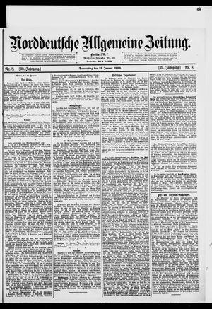Norddeutsche allgemeine Zeitung vom 11.01.1900