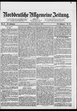 Norddeutsche allgemeine Zeitung vom 16.01.1900