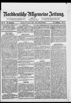 Norddeutsche allgemeine Zeitung vom 21.01.1900