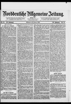Norddeutsche allgemeine Zeitung vom 24.01.1900