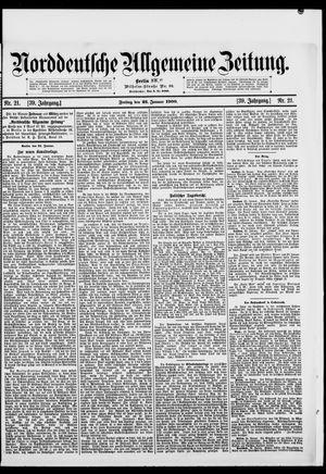 Norddeutsche allgemeine Zeitung vom 26.01.1900