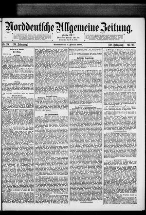 Norddeutsche allgemeine Zeitung on Feb 3, 1900