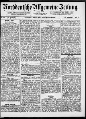 Norddeutsche allgemeine Zeitung vom 04.02.1900