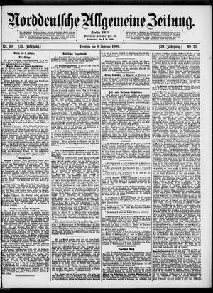 Norddeutsche allgemeine Zeitung vom 06.02.1900
