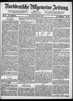 Norddeutsche allgemeine Zeitung vom 08.02.1900