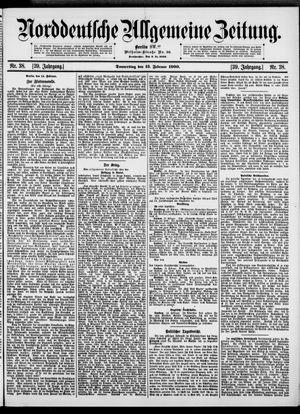 Norddeutsche allgemeine Zeitung vom 15.02.1900