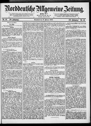 Norddeutsche allgemeine Zeitung vom 17.02.1900