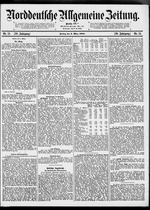 Norddeutsche allgemeine Zeitung vom 02.03.1900