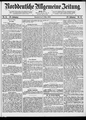 Norddeutsche allgemeine Zeitung vom 03.03.1900