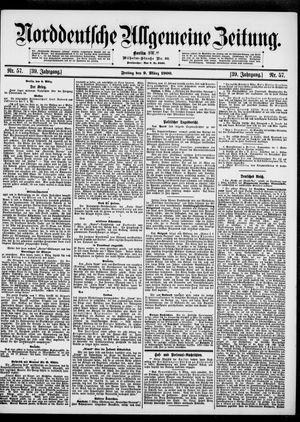 Norddeutsche allgemeine Zeitung vom 09.03.1900