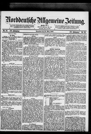 Norddeutsche allgemeine Zeitung vom 10.03.1900