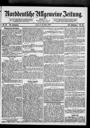 Norddeutsche allgemeine Zeitung vom 16.03.1900