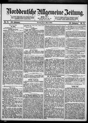 Norddeutsche allgemeine Zeitung vom 03.04.1900