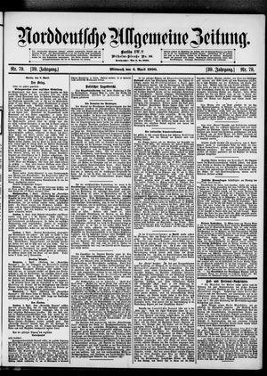 Norddeutsche allgemeine Zeitung on Apr 4, 1900