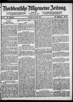 Norddeutsche allgemeine Zeitung vom 05.04.1900