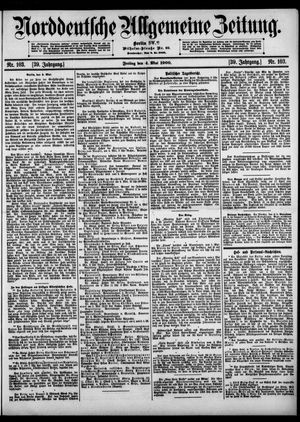Norddeutsche allgemeine Zeitung vom 04.05.1900