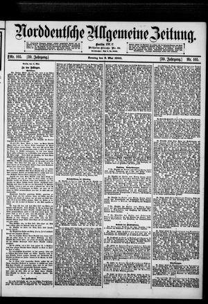 Norddeutsche allgemeine Zeitung vom 06.05.1900