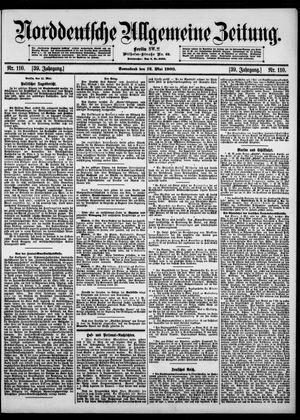 Norddeutsche allgemeine Zeitung vom 12.05.1900
