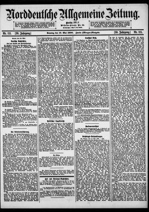 Norddeutsche allgemeine Zeitung vom 13.05.1900
