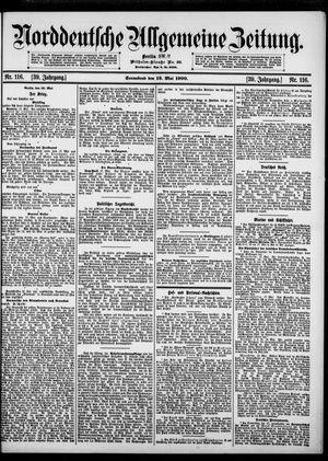 Norddeutsche allgemeine Zeitung vom 19.05.1900