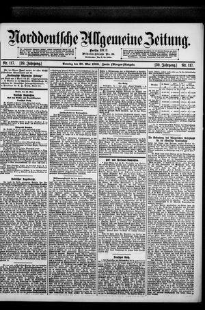 Norddeutsche allgemeine Zeitung vom 20.05.1900