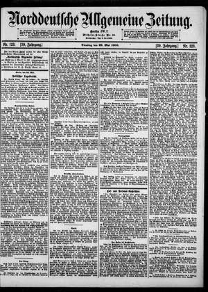 Norddeutsche allgemeine Zeitung vom 29.05.1900
