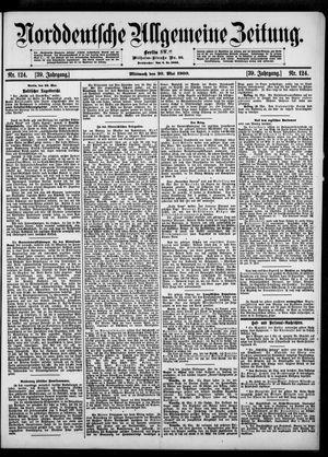 Norddeutsche allgemeine Zeitung vom 30.05.1900