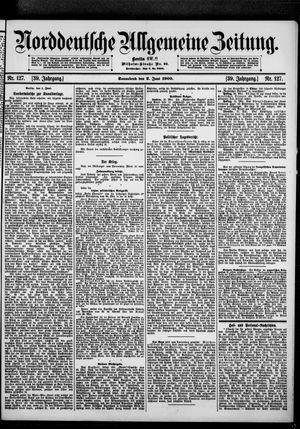 Norddeutsche allgemeine Zeitung vom 02.06.1900