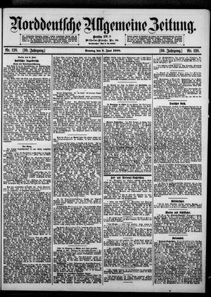 Norddeutsche allgemeine Zeitung vom 03.06.1900