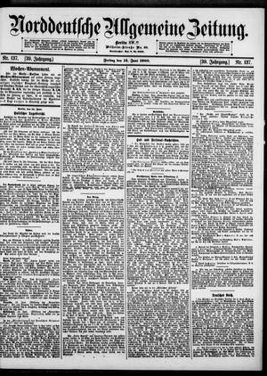 Norddeutsche allgemeine Zeitung vom 15.06.1900