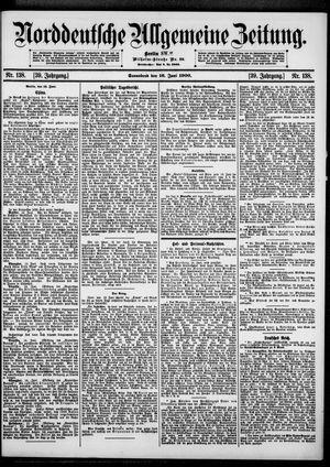 Norddeutsche allgemeine Zeitung vom 16.06.1900
