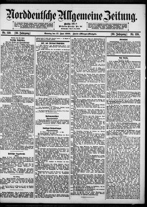 Norddeutsche allgemeine Zeitung vom 17.06.1900