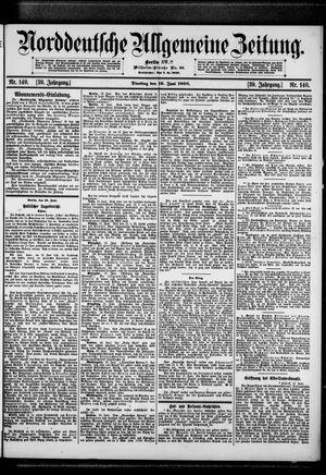 Norddeutsche allgemeine Zeitung vom 19.06.1900